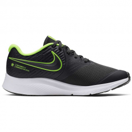 Zapatillas running Nike Star Runner 2 (GS) gris/flúor junior