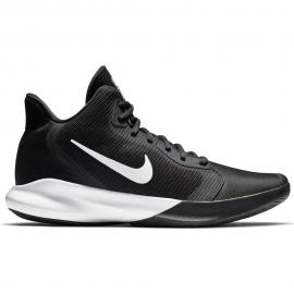Zapatillas baloncesto Nike Precision III negro/blanco hombre