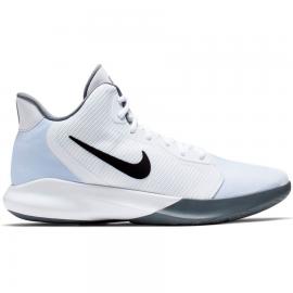 Zapatillas baloncesto Nike Precision III blanco/negro hombre