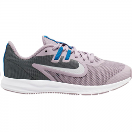 Zapatillas Nike Downshifter 9 (GS) lila/gris junior
