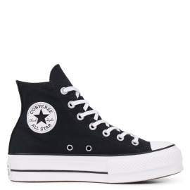 Zapatillas Converse All Star Lift Hi negro mujer