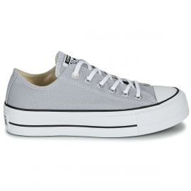 Zapatillas Converse All Star Lift Ox gris mujer