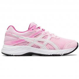 Zapatillas running Asics Contend 6 rosa/blanco junior