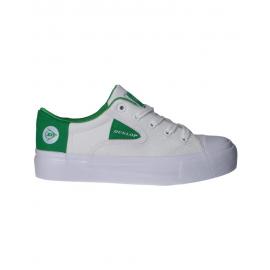 Zapatillas Dunlop 35546/215 blanco/verde mujer
