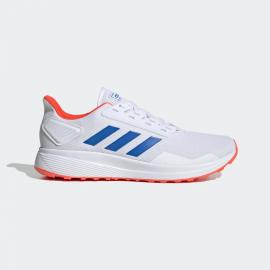 Zapatillas running adidas Duramo 9 blanco/azul hombre