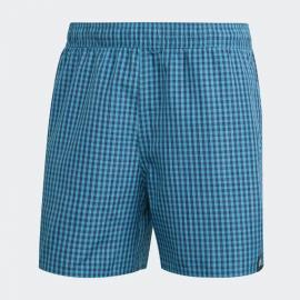 Bañador adidas Check CLX azul cuadros hombre