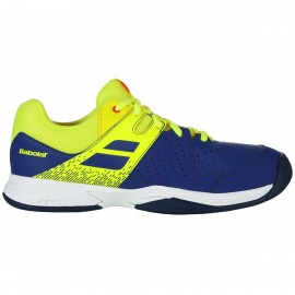 Zapatilla tenis Babolat Pulsion All court azul/fluor 2019