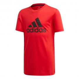 Camiseta adidas Prime rojo/negro junior