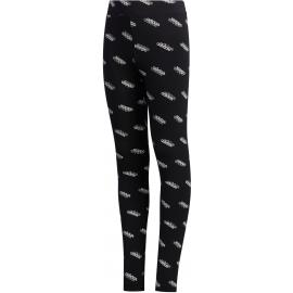 Mallas adidas Favorites Tight negro/blanco niña