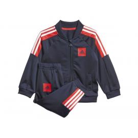 Chándal adidas Shinny azul/rojo bebé