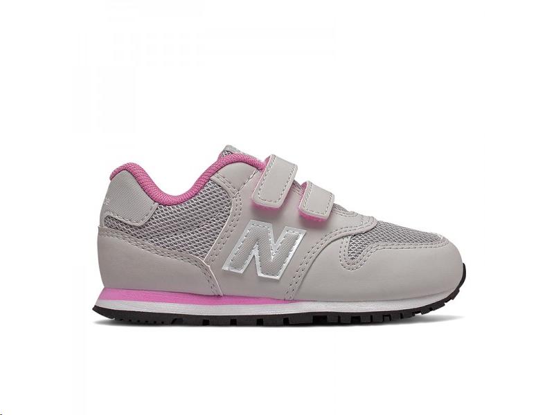 new balance niña gris y rosa