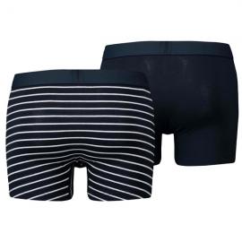 Bóxer Levis Vintage Vintage Stripe 2pk azul/azul rayas hombr