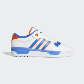 Zapatillas adidas Rivalry low blanco/azul hombre