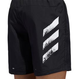 Pantalón running adidas Run It Short Pb negro hombre