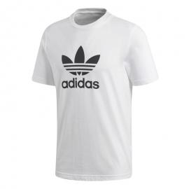 Camiseta adidas Trefoil blanco/negro hombre