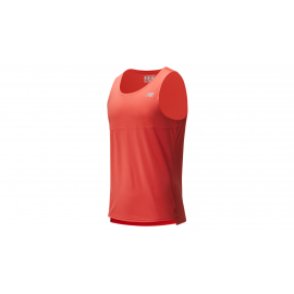Camiseta running New Balance Accelerate Singlet naranja