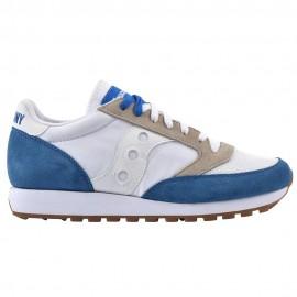 Zapatillas Saucony Jazz Original Vintage blanco/azul hombre