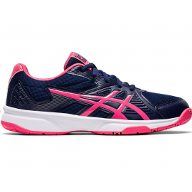 Zapatillas voleibol Asics Upcourt 3 marino/rosa mujer