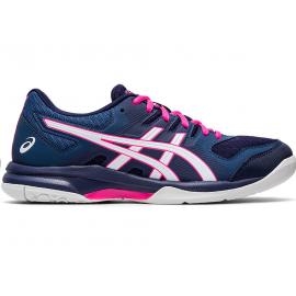 Zapatillas voleibol Asics Gel-Rocket 9 marino/rosa mujer