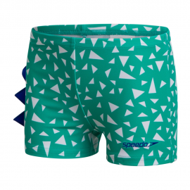 Bañador Speedo Corey Croc Allover Applique verde niño