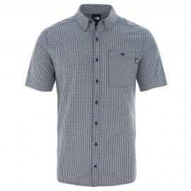 Camisa The North Face Hypress St cuadros blanco/negro hombre