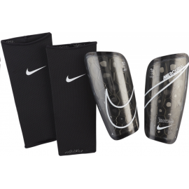 Espinilleras futbol Nike Mercurial Lite negro/blanco