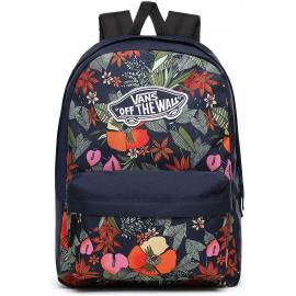 Mochila Vans Realm Backpack azul/flores