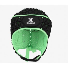 Gilbert ignite headguard blk/grn 58541340