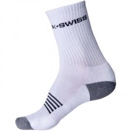 Calcetines tenis/pádel K-Swiss Crew 3pk blanco unisex