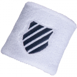 Muñequeras tenis/pádel K-Swiss blanco/azul unisex