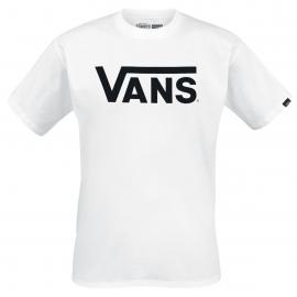 Camiseta Vans Classic blanco/negro hombre