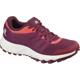 Zapatillas trail running Salomon Trailster 2 W granate mujer