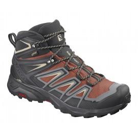 Botas trekking Salomon X Ultra 3 GTX marrón/gris hombre