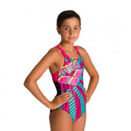 Bañador Arena Sunrise Swim Pro multicolor niña