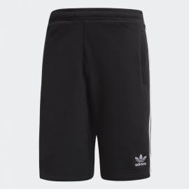 Pantalón corto adidas 3 Bandas negro/blanco hombre