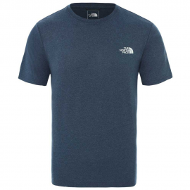 Camiseta The North Face Reaxion AMP Crew azul hombre