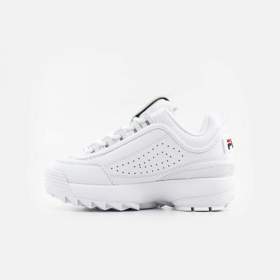 zapatos fila blancos niña imagenes