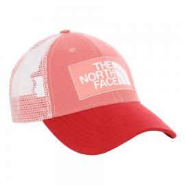 Gorra The North Face Mudder Trucker rosa