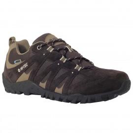 Zapatillas trekking Hi-Tec Senda Wp marrón hombre