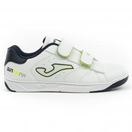 Zapatillas Joma W.Ginkana 911 velcro blanco/amarillo niño