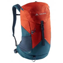Mochila trekking Vaude Jura 18L azul/naranja
