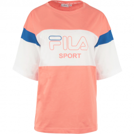 Camiseta Fila Lalette rosa/blanco mujer