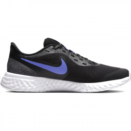 Zapatillas Nike Revolution 5 Glitter Big negro/azul junior