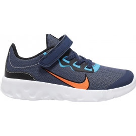 Zapatillas Nike Explore Strada (PSV) azul/naranja niño