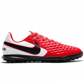 Zapatillas fútbol Nike Legend 8 Club TF rojo/blanco jr