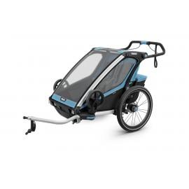 Carrito Thule Charriot Sport 2 azul-negro V19 10201015