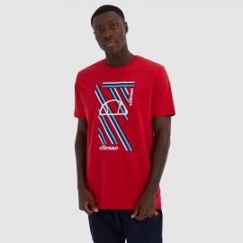 Camiseta Ellesse Marotta rojo hombre