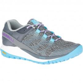 Zapatillas trekking Merrell Antora gris/azul mujer