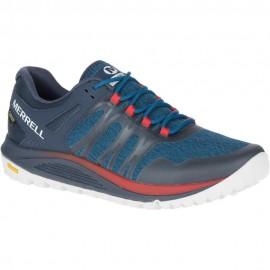 Zapatillas montaña Merrell Nova GTX azul hombre