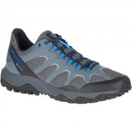 Zapatillas montaña Merrell Fiery GTX gris azul hombre